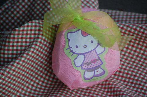 Kello Kitty Surprise Ball filled with Girlie things!